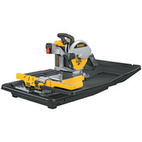 Dewalt D24000 250mm Slide Table Wet Tile Saw