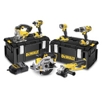 Dewalt DCK692M3 18V 6 Piece Cordless Kit (3 x 4ah Batteries)