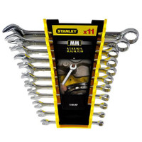 Stanley 11pce Metric Combination Wrench Set