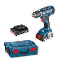 Bosch GSB18-2-LI Plus Professional Combi Drill (2x2Ah L-BOXX)