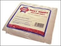Cotton Twill Dust Sheet 12 x 9ft
