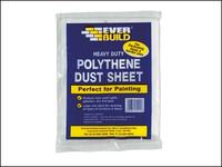 Everbuild Polythene Dust Sheet 3.6 x 2.7m