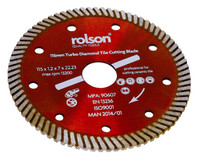Rolson 24865 Diamond Tile Cut Blade, 115 mm