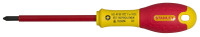 Stanley FatMax PZ1x100mm VDE Pozi Screwdriver