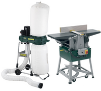 Record Power Planer Thicknesser & Extractor Package Deal