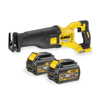 Dewalt DCS388T2 Reciprocating Saw XR Flexvolt 54V Cordless (2 x 6.0Ah Batteries)