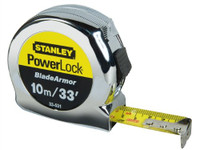 Stanley 10m/30' Powerlock Tape with Blade Armor