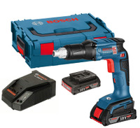 Bosch GSR 18 V-EC 18V li-ion Professional Drywall Screwdriver with 2 x 2.0 Ah in L-BOXX
