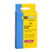 Tacwise 0285 Series 91 25mm Staples