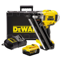 Dewalt DCN690M2 18V Li-ion Cordless 90mm Framing Nailer (2 x 4Ah Batteries)
