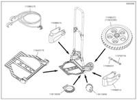 Wolcraft 115980515 Transport Cart Suspension