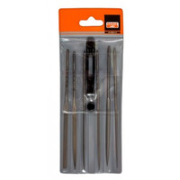 Bahco 6 Piece Needle File Set