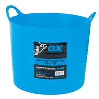 Ox Pro OX-P110620 Heavy Duty 20 Litre Flexi Tub