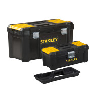 Stanley Essential 480mm(19in) Metal Latch Toolbox with Bonus 12.1/2in Toolbox