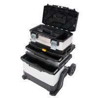 Stanley Galvanised Metal Rolling Tool Box