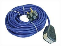 Trailing Lead 240 Volt 13 Amp 1.5mm Cable 14 Metre