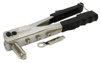 Rolson Aluminium Riveter with Interchangeable Heads (44415)
