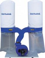 Charnwood W692 3HP Double Bag Extractor