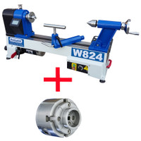Charnwood W824P Midi Lathe Package Deal (W824P)