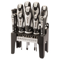 Draper 21 Piece Screwdriver Set (White) (29896)