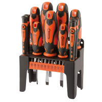 Draper 21 Piece Screwdriver Set (Orange) (29886)