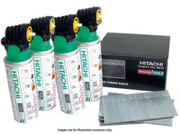 Hitachi 705578 16 Gauge 25mm Straight Brad Nail Pack