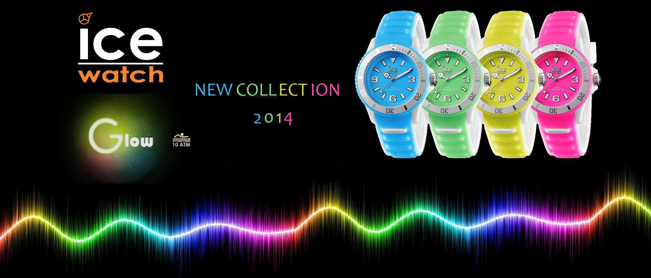 Glow in the dark Ice watch