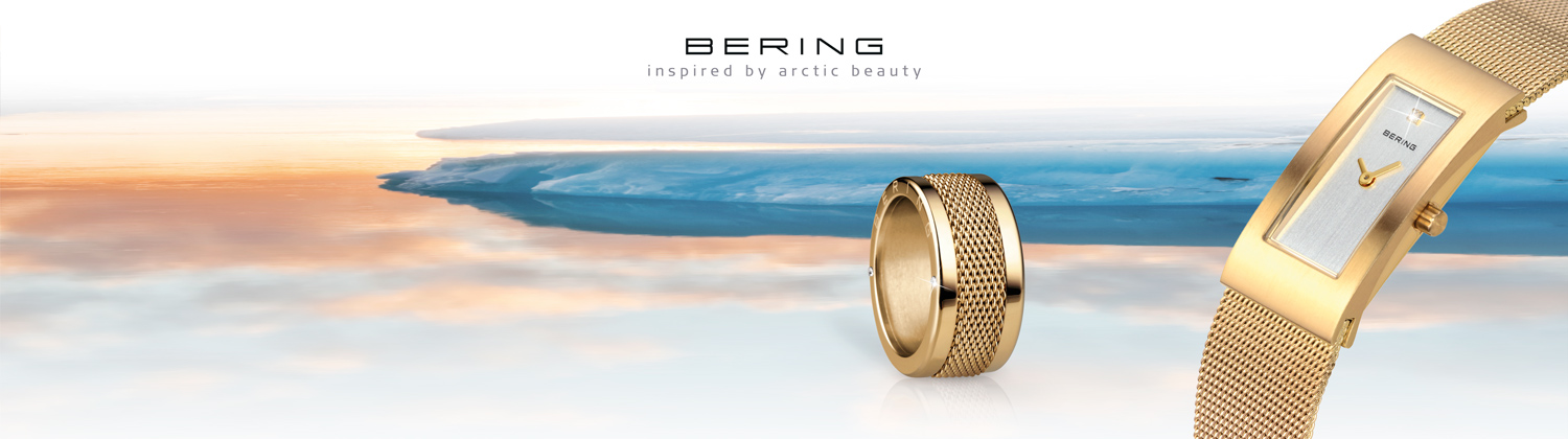 Bering ladies mesh watches from watcho