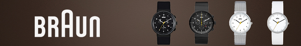 Braun watches by WatchO
