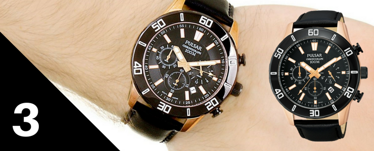 Pulsar Men's Chronograph Watch | WatchO