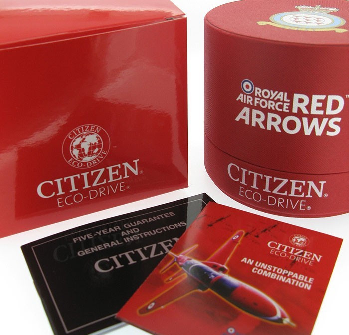 Watch Review - Citizen Red Arrows CA0080-54E Men's Chronograph Bracelet Watch