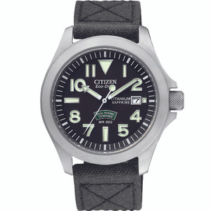 Citizen Royal Marines Commandos Super-Tough Military Watch BN0110-06E