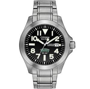 Citizen Military Watch Royal Marines Commandos Super-Tough Bracelet Watch BN0110-57E