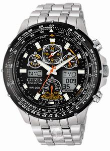 Citizen SkyHawk Titanium World Time Radio Controlled Watch JY0010-50E