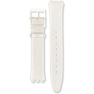 Swatch Watch Strap Leather Panna Montata For Skin Watches ASFK199