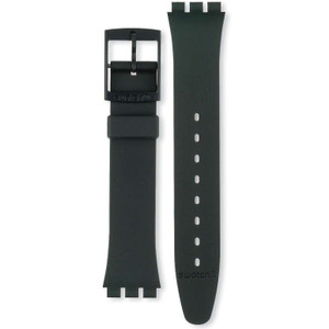 Swatch Watch Strap Classic Black AG0000 17mm With Free Battery