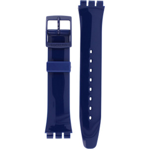 Swatch Watch Strap Classic Blue Up Wind 17mm For AGN230