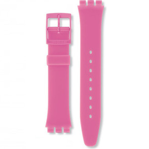 Swatch Watch Strap Classic Pink Dragon Fruit AGP128 17mm