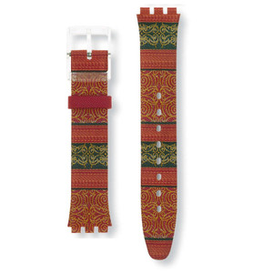 Swatch Watch Strap Sweet Sarong ASFK187 16mm Skin Collection
