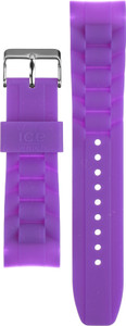 Ice-watch Replacement Strap Purple With Free Pins
