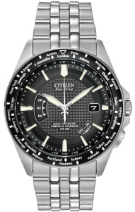 Citizen Eco-Drive Radio Controlled World Time Perpetual Watch CB0020-50E