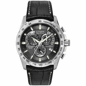 Citizen Radio Controlled Eco-Drive Perpetual Calendar Watch AT4000-02E