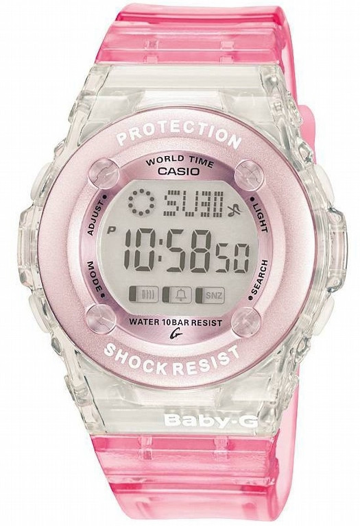 Product Review - Pink Baby G Watch Digital Chronograph Watch BG-1302-4ER