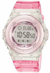 Pink Baby G Watch Digital Chronograph Watch BG-1302-4ER