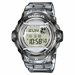 Casio Baby-G Grey Alarm Chronograph Watch BG-169R-8ER