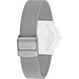 Skagen Replacement Watch Strap Silver Mesh For 358S Series