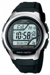 Casio Wave Ceptor Radio Controlled Watch WV-58U-1AVES