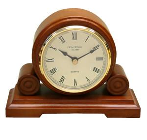 Widdop & Bingham Wooden Traditional Quartz Table Clock W2952