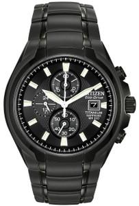 Citizen Titanium Eco-Drive Sapphire Crystal Chronograph Watch CA0265-59E