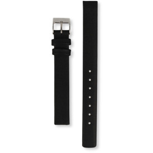 Skagen Watch Replacement Strap For 358XSSLBC Black Leather
